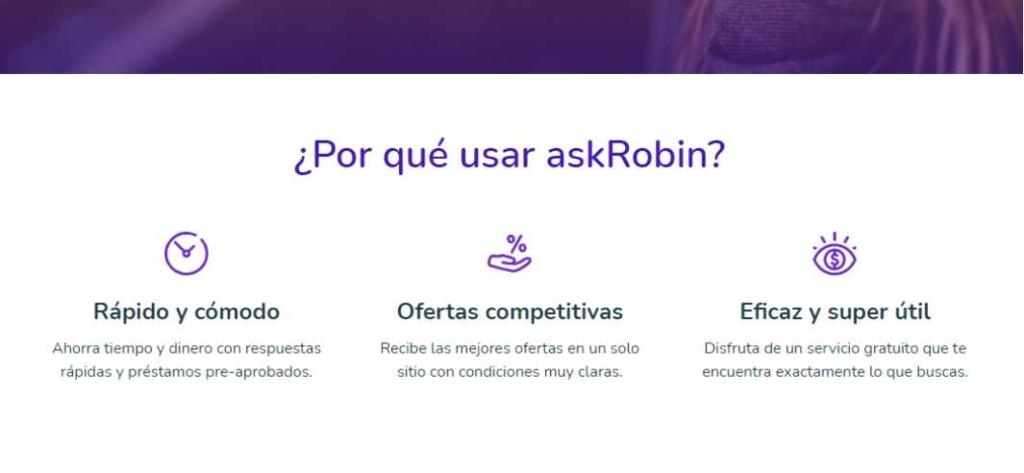 Opiniones sobre askRobin