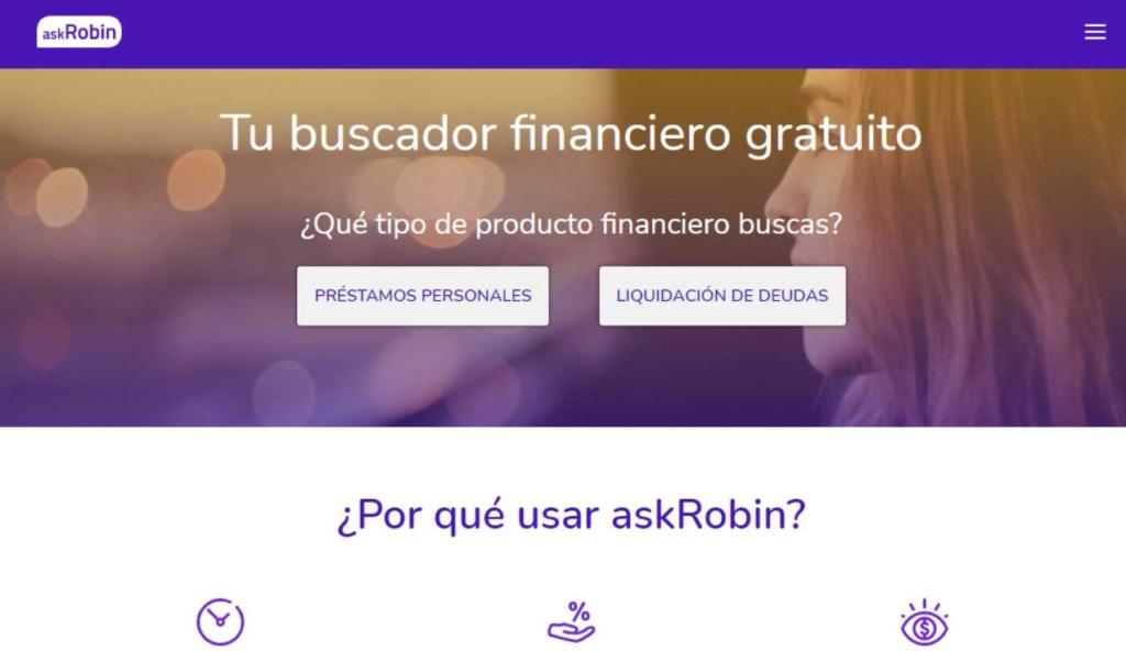 Imagen sobre qué es askRobin préstamos