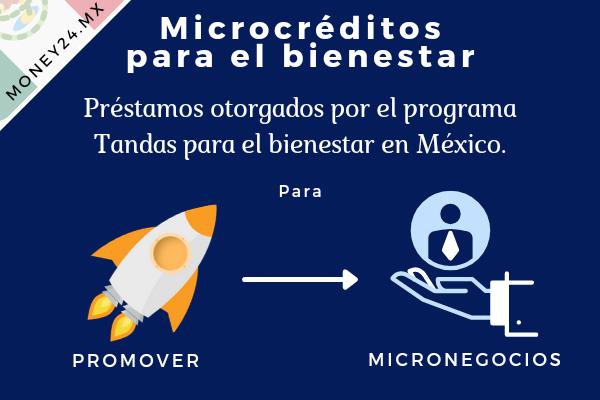 Tandas del bienestar microcrédito