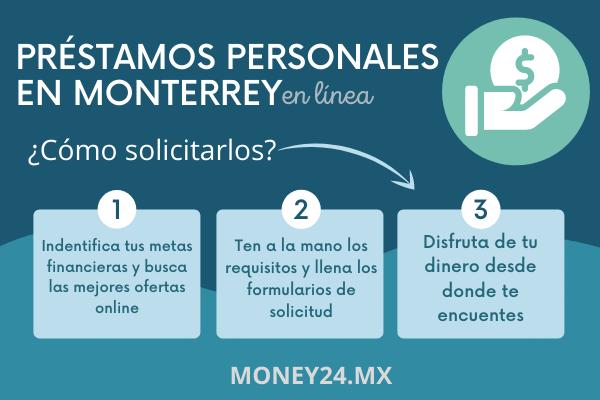 Ofertas online de préstamos personales en Monterrey