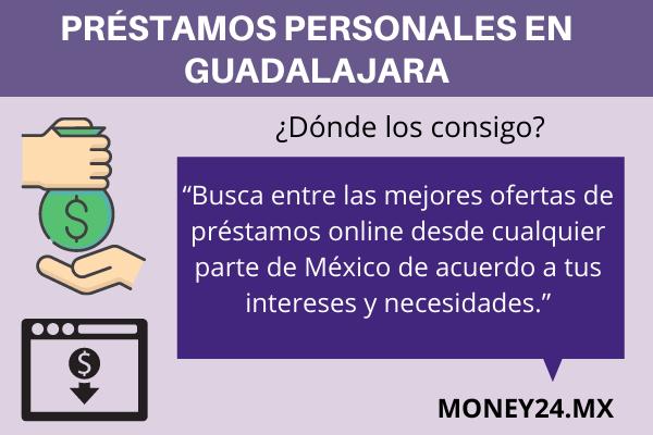 Dónde pedir préstamos personales en Guadalajara