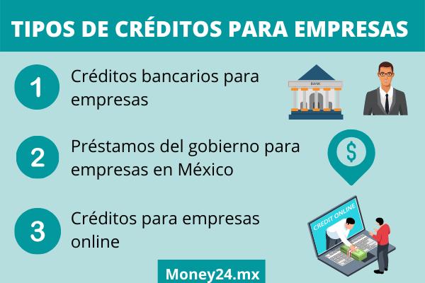 Qué tipos de créditos para empresas existen
