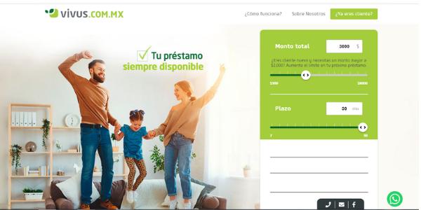 Vivus préstamos en México