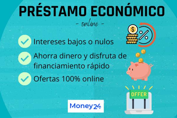 Cómo elegir un préstamo económico online