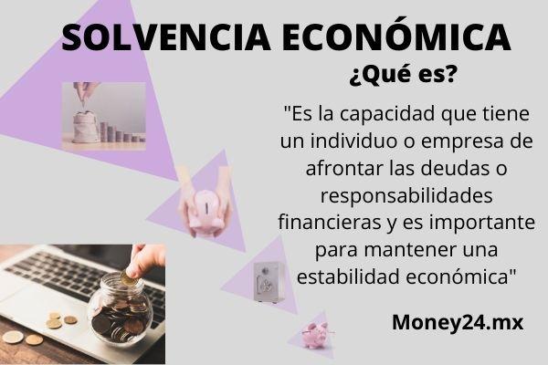 Qué es solvencia económica